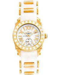 Aquaswiss Swissport L24 Diamond Watch - Metallic