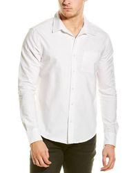 Michael Stars Pocket Woven Shirt - White