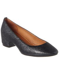 Gentle Souls By Kenneth Cole Priscille Leather Pump - Black