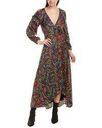 Karen Millen Wrap Dress - Black