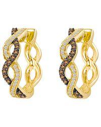 Le Vian 14k 0.49 Ct. Tw. Diamond Earrings - Metallic