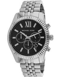 Michael Kors - Men's Lexington Stainless-steel Watch - Lyst