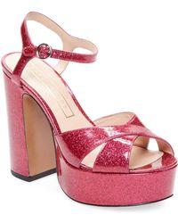 Marc Jacobs Lust Platform Sandal - Pink