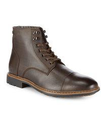 Original Penguin - Neilson Leather Boots - Lyst