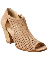 Paul Green Tianna Leather Bootie - Brown