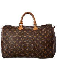 Louis Vuitton Monogram Canvas Speedy 40 - Brown