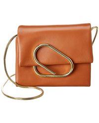 3.1 Phillip Lim Alix Micro Leather Crossbody - Brown