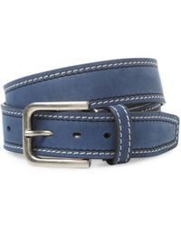 Berge' - Suede Belt With Two Tone - Lyst