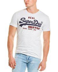 Superdry Premium Goods T-shirt - White