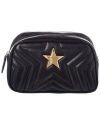 Stella McCartney Star Cosmetic Pouch - Black