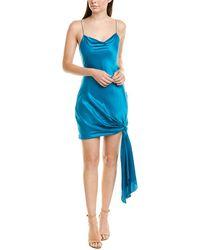 Cinq À Sept Ryder Silk Slip Dress - Blue