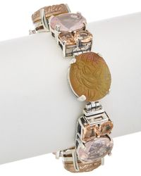 Stephen Dweck - Rose Silver Gemstone & Pearl Bracelet - Lyst