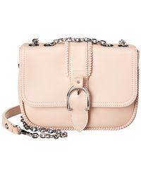 Longchamp Amazone Xs Leather Shoulder Bag - Pink