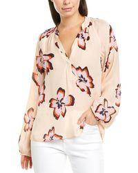 A.L.C. Floral Print Blouse - Pink