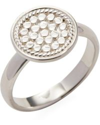 Anna Beck Jewelry Circle Disc Cocktail Ring