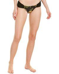 MINKPINK X Some Days Lovin Floral Bikini Bottom - Black