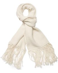 """Helmut Lang - Wool & Cashmere Long Scarf, 78"""" X 15.5"""" - Lyst"""