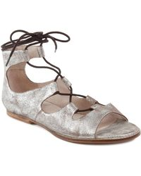 Seychelles Standard Leather Sandal - Metallic