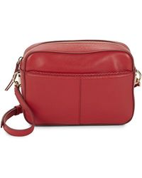 Cole Haan - Benson Leather Camera Bag - Lyst