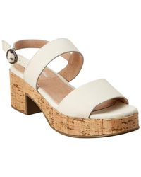 Seychelles Belmont Shore Leather Sandal - White