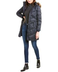Barbour Sternway Quilted Coat - Blue