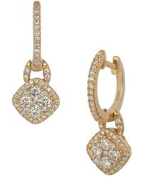 Le Vian - 14k Honey Goldtm & Vanilla Diamonds® Drop Earrings - Lyst