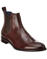 Gordon Rush Leather Chelsea Boot - Brown