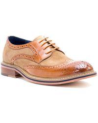 Zanzara Leather Oxford - Brown