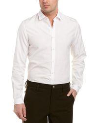 Gucci Bee Jacquard Oxford Duke Woven Shirt - White