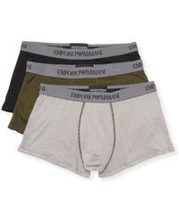 Emporio Armani - Cotton Boxer Briefs Set - Lyst