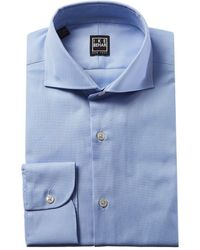 Ike Behar Fredrick Dress Shirt - Blue