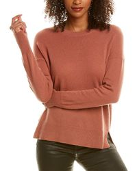 Theory Karenia Cashmere Sweater - Pink