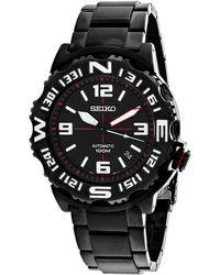 Seiko Men's Superior Watch - Black