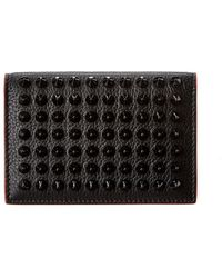 Christian Louboutin Sifinos Leather Card Holder - Black