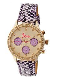 Boum Women's Serpent Watch - Pink