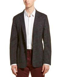 Hickey Freeman Wool Sport Coat - Gray