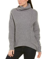 Magaschoni Cashmere Sweater - Gray