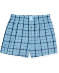 Psycho Bunny - Woven Cotton Boxers - Lyst