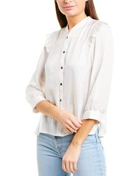 Zadig & Voltaire Tygg Satin Blouse - White