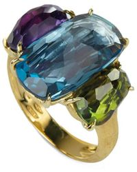 Marco Bicego Murano 18k Gemstone Cocktail Ring - Multicolor