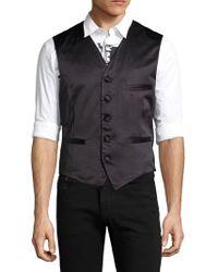 Diesel Black Gold Jokla Cotton Vest - Black