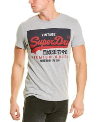 Superdry Vintage Logo T-shirt - Grey