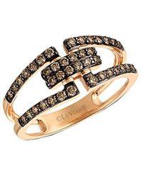 Le Vian Chocolatier 14k Rose Gold 0.48 Ct. Tw. Diamond Ring - Metallic