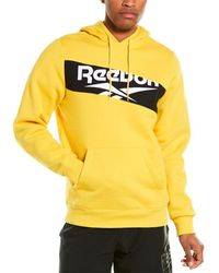 Reebok Classic Vector Hoodie - Yellow