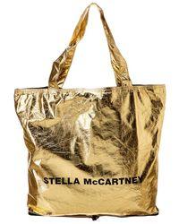 Stella McCartney Logo Shopper Tote - Metallic