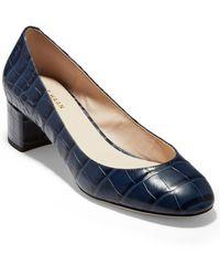 Cole Haan Lesli Court Shoes - Blue