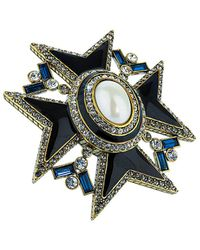 Heidi Daus - Gemstone & Crystal Pin - Lyst