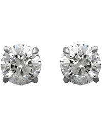 Heritage 14k 0.53 Ct. Tw. Diamond Brilliant Studs - Metallic