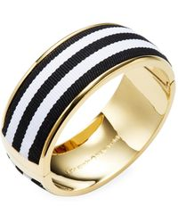 Kate Spade - Striped Bangle - Lyst