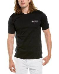 Z Zegna Graphic T-shirt - Black